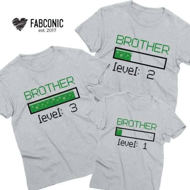 Brother Sister Gamer Shirts, Sister Levels, Brother Levels, Siblings Shirts