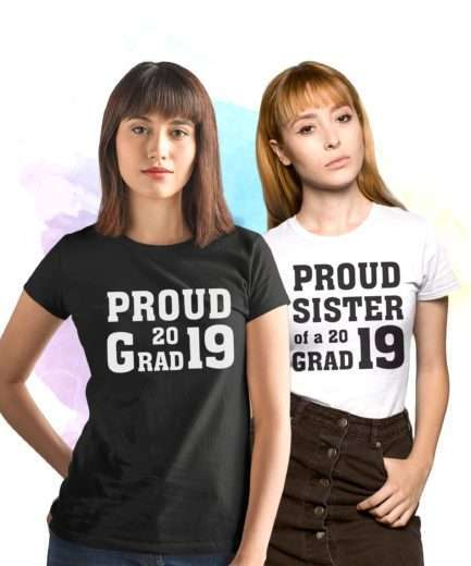 Proud Grad Shirt, Custom Year, Siblings Shirts, Back to School Shirts