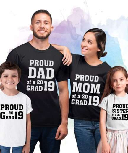 Family Graduation Shirts, Custom Year, Matching Family Shirts
