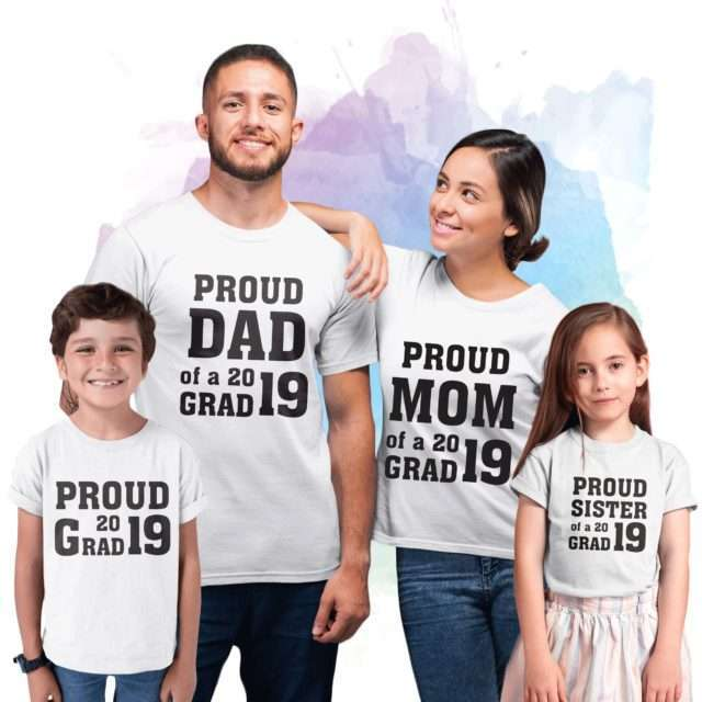 Proud Grad Shirt, Custom Year, Siblings Shirts, Back to School Shirts