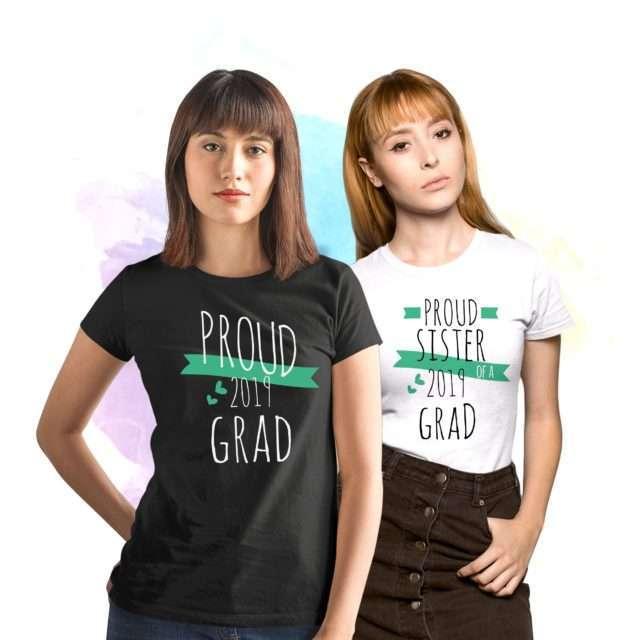 Family Graduation Shirts, Proud Sister of a Grad, Custom Siblings Shirts