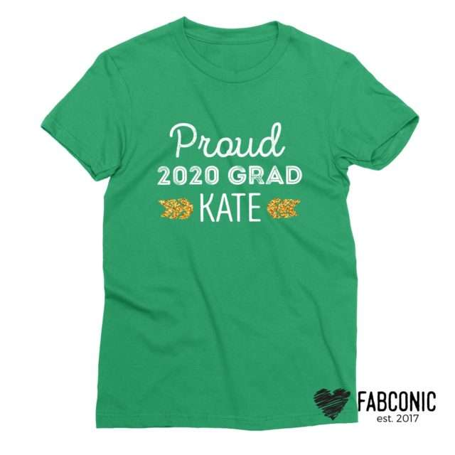 Graduation Shirt, Proud Grad, Custom Back to School Shirts