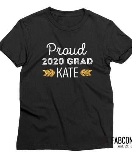 Graduation Shirt, Proud Grad, Custom Back to School Shirts