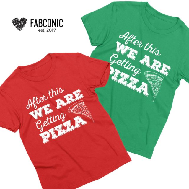 Bachelorette Party Shirts, After This We are Getting Pizza, Best Friends T-Shirts