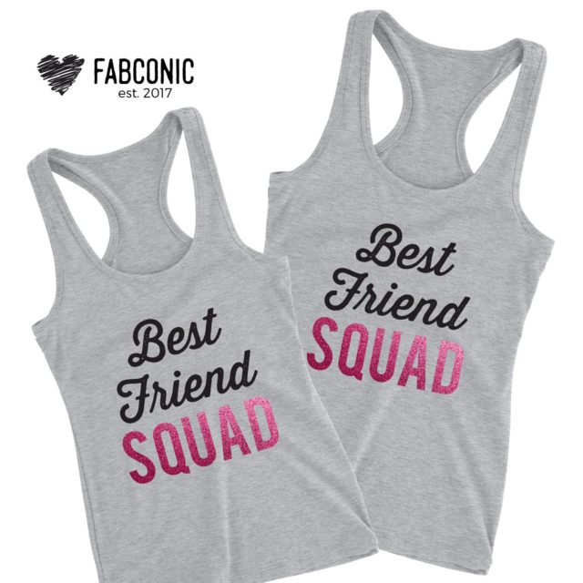 BFF Squad Tank Tops, BFF Gift Idea, Best Friend Squad, Tank Tops
