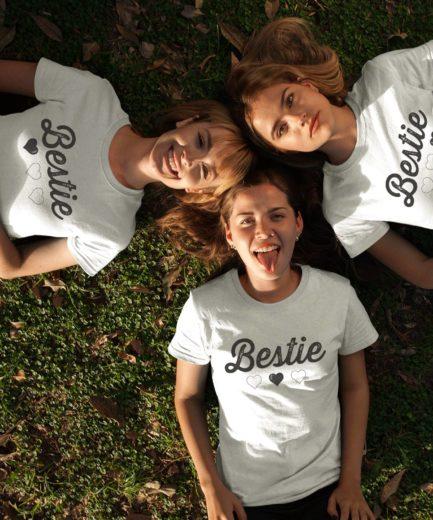 Bestie Shirts, Bestie Hearts, Best Friends Gift, Galentine's Day Shirts