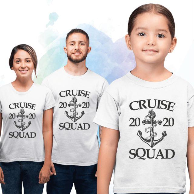 Custom Cruise Squad Shirts, Cruise Squad 2020, Family Shirts, Custom Year