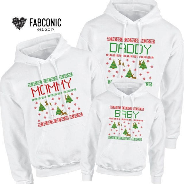 Custom Christmas Hoodies, Every Family Member Custom Christmas, Family Hoodies