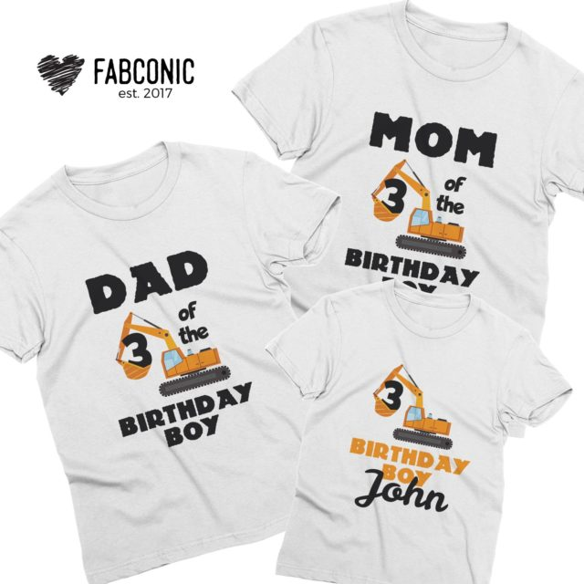 Birthday Boy Family Shirts, I am the Birthday Boy, Bagger, Family Shirts