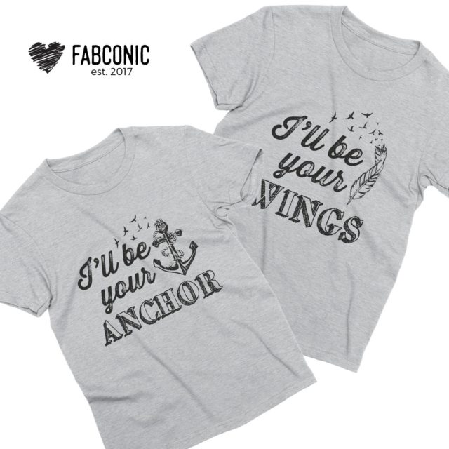 Best Friend Shirts for 3, I'll Be Your Wings, Your Guide, Your Anchor