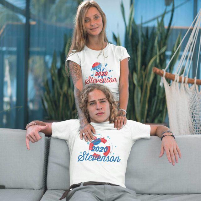 Anniversary Cruise Shirts, Custom Cruise 2020, Couple Matching Shirts