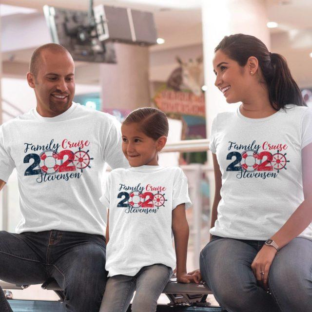 Family Cruise Shirts, Personalized Family Cruise 2020, Family Shirts