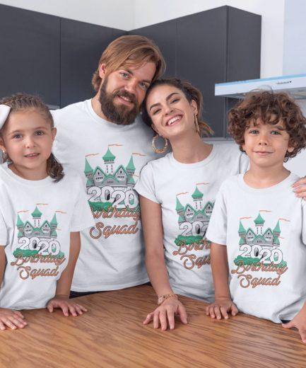 Birthday Squad Shirts, Castle, Birthday Squad 2020, Matching Family Shirts