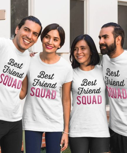 Best Friend Squad Shirts, Best Friends Gift, Cute BFF T-Shirts