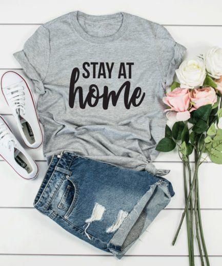 Stay at Home Shirt, Nurse Gift, Social Distancing Shirt, Nurse Shirt