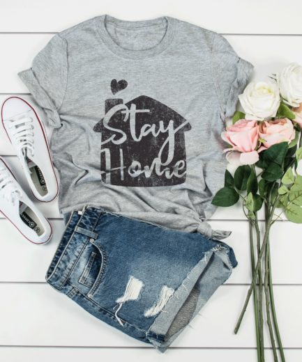 Stay Home Shirt, Womens Quarantine Shirt, Quarantine Gift