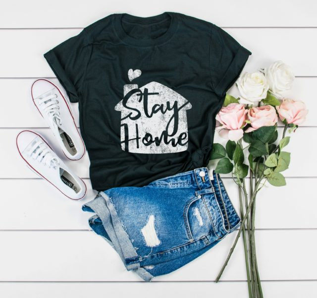 Stay Home Shirt, Womens Quarantine Shirt, Quarantine Gift